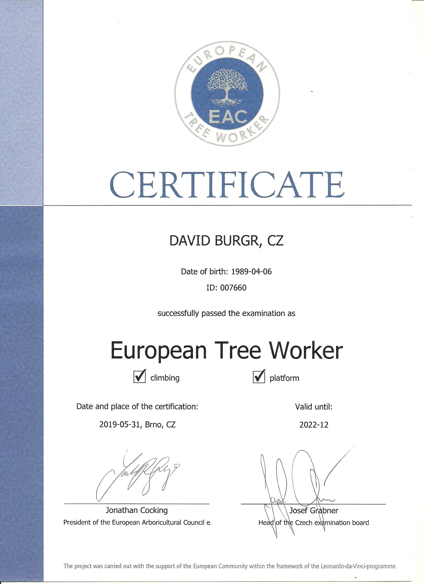 europeanTreeWorker